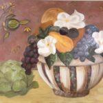 La corbeille, M. Dalivoust, Huile sur toile, 72x60