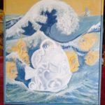 Les poissons dans la vague, E. Jeanneret