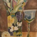 Victor, C. Albagli, aquarelle, 40x30