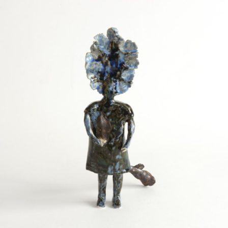 PETIT ESPRIT 18,  grès émaillé,  30 x 11 x 13 cm